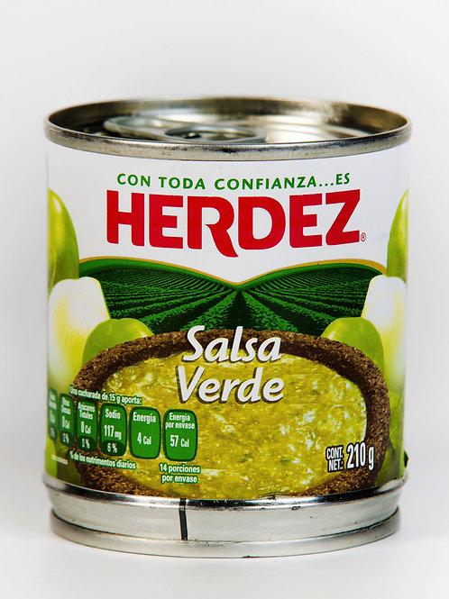 Salsa Verde, Herdez - 210 g.