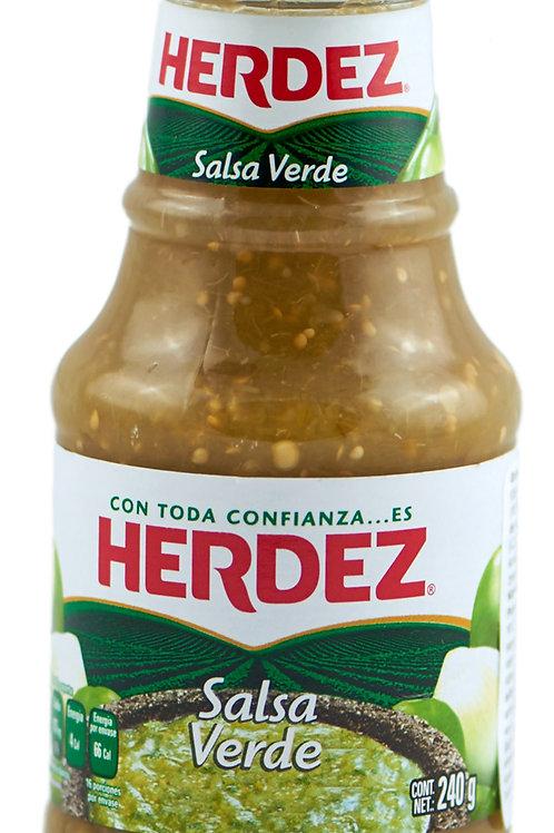 "Salsa verde ""Herdez"" 240 gr"