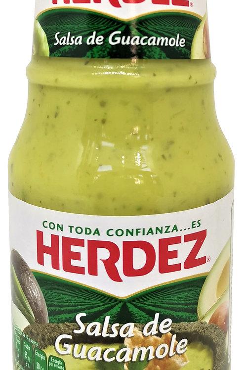 Salsa Guacamole Herdez - 445 gr