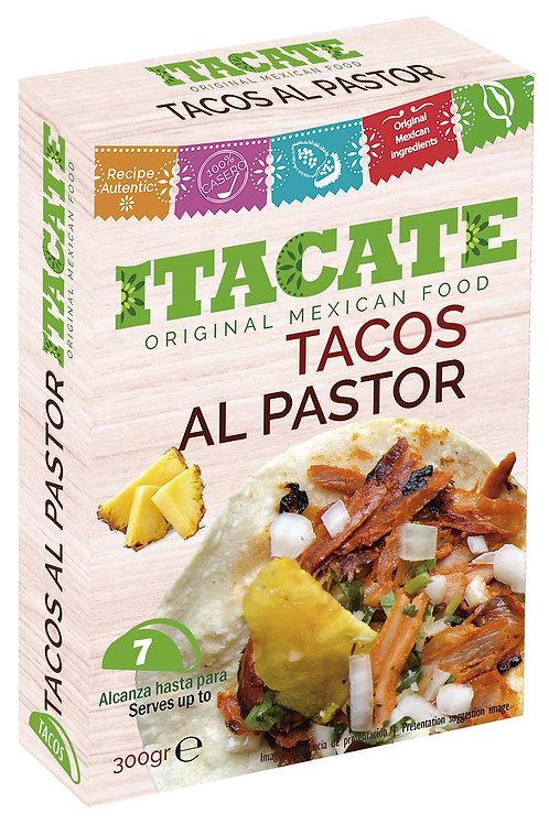 Tacos al Pastor, plato listo para comer - 300 g.