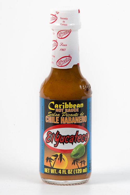Salsa habanera Caribbean, El Yucateco - 120 ml