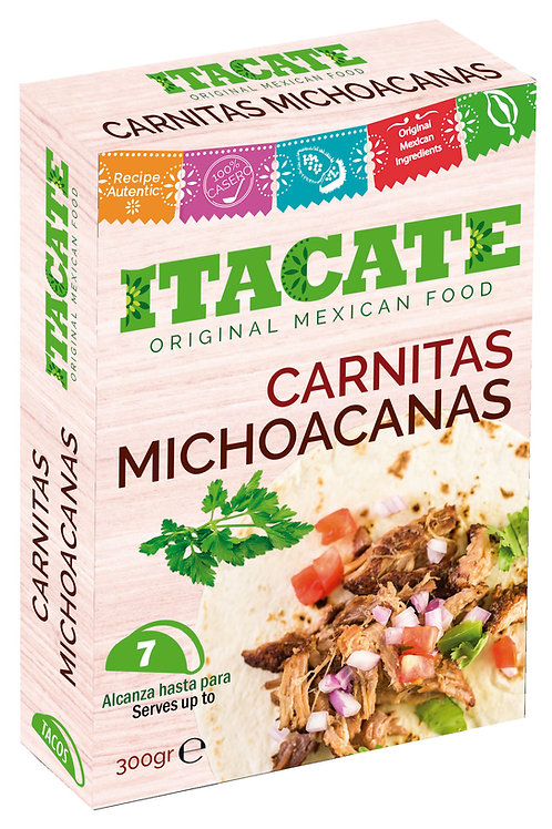 Carnitas Michoacana, Itacate - 300 g