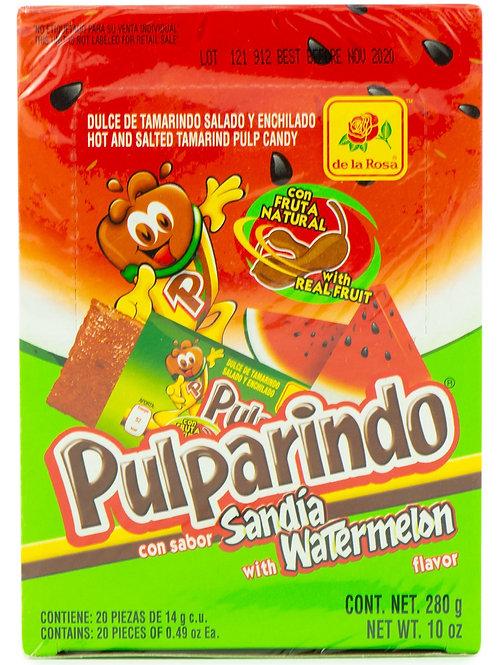 Pulparindo sabor Sandia - De la Rosa - 280 gr