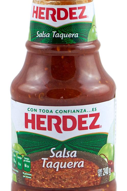 "Salsa Taquera ""Herdez"" 240 gr"