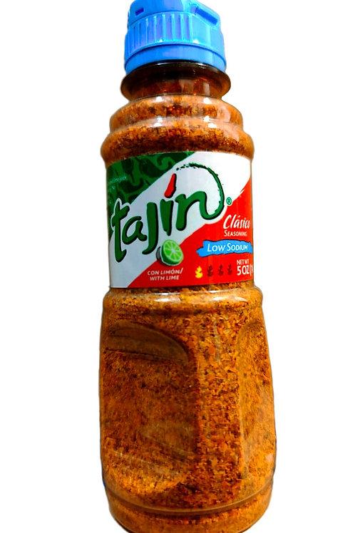 """""""Tajin"""" clasique - 142 g - Piment en poudre légèrement piquant pobre en sel"""