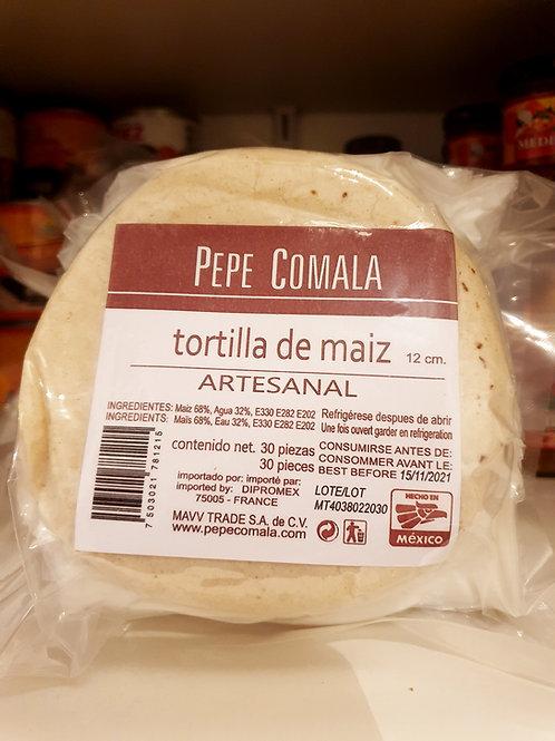 Tortillas de maiz Pepe Comala - 500 g. - 12 cm
