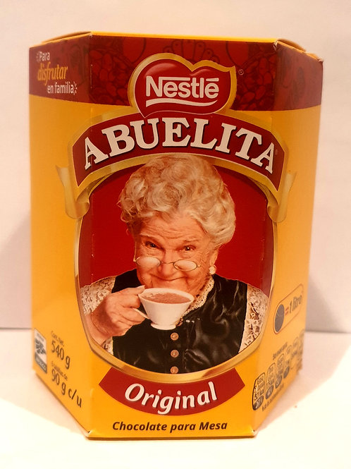 "Chocolate en barras ""Abuelita"" - Nestle - 540 g"
