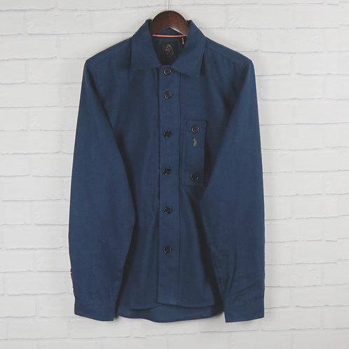 Luke 1977 Navy Moleskin Over Shirt