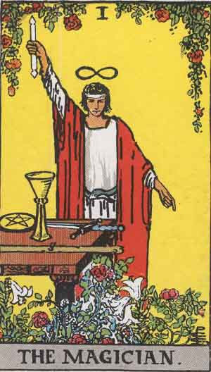 Today's Tarot for February 24th- Card 1 The Magician