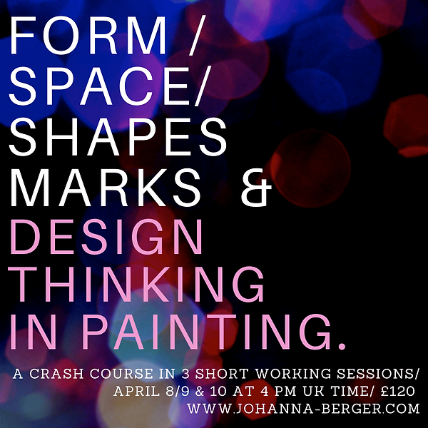 FORM SHAPES MARKS & DESIGN IN PAINTING..