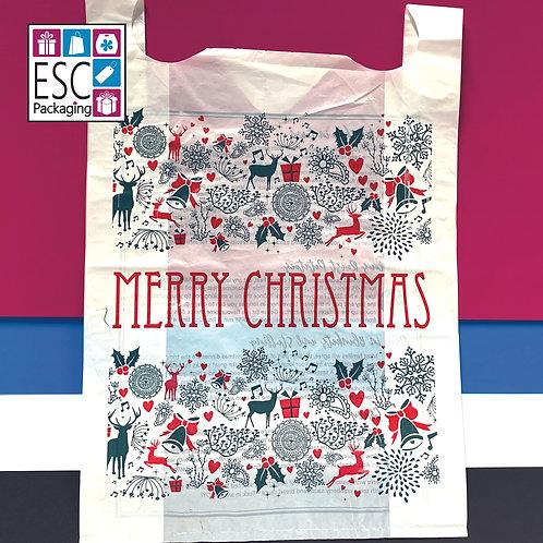 Merry Christmas jumbo carriers