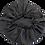 Thumbnail: Black Satin Bonnet