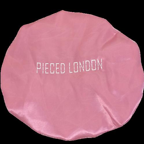 Pink Satin Bonnet