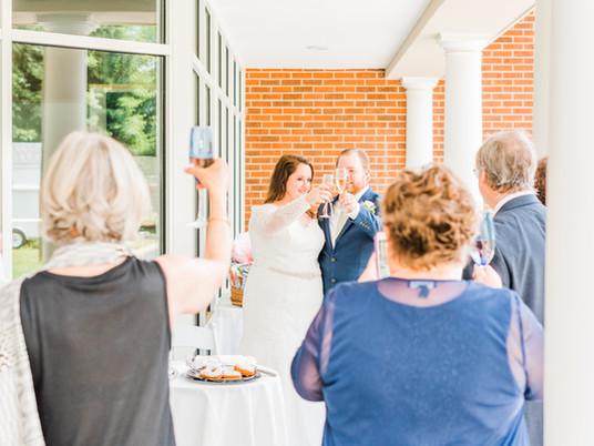 Intimate Wedding in Williamsburg, Virginia