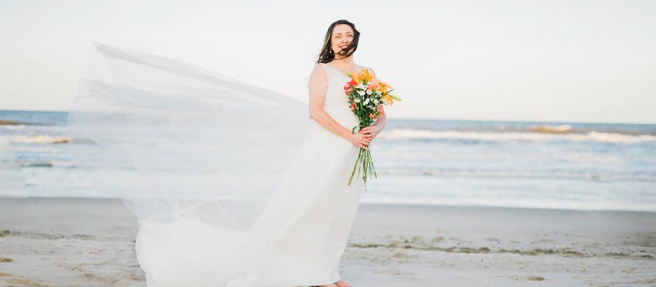 Sunset Beach Wedding In Corolla, North Carolina