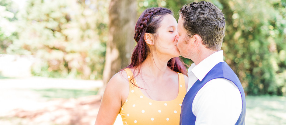 Tips For Taking Engagement Photos In The Summer Without Getting All Sweaty