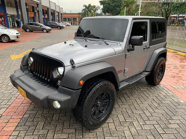 Jeep Wrangler Sport At 3.6  4x4 2014