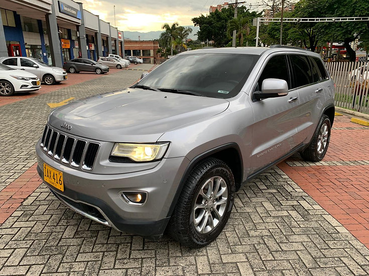 Jeep Grand Cherokee Limited 3.6 At 4x4 2014
