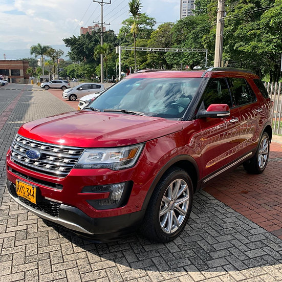 Ford Explorer Limited 3.5 At 4x4 2016