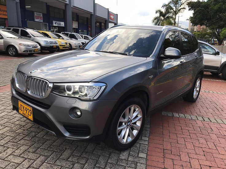 BMW X3 XDrive 35i AT 2017