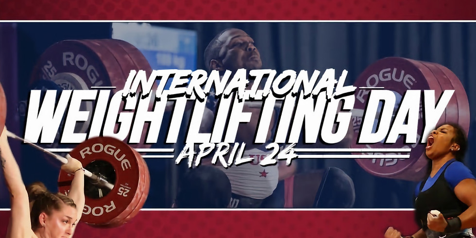 International Try Weightlifting Day!