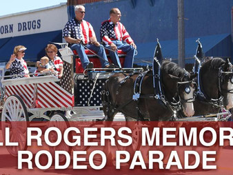 Original Will Rogers Memorial Rodeo Parade Accepting Entries