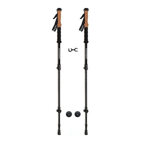 Ultra Strong Cork Anti-Shock Trekking Poles