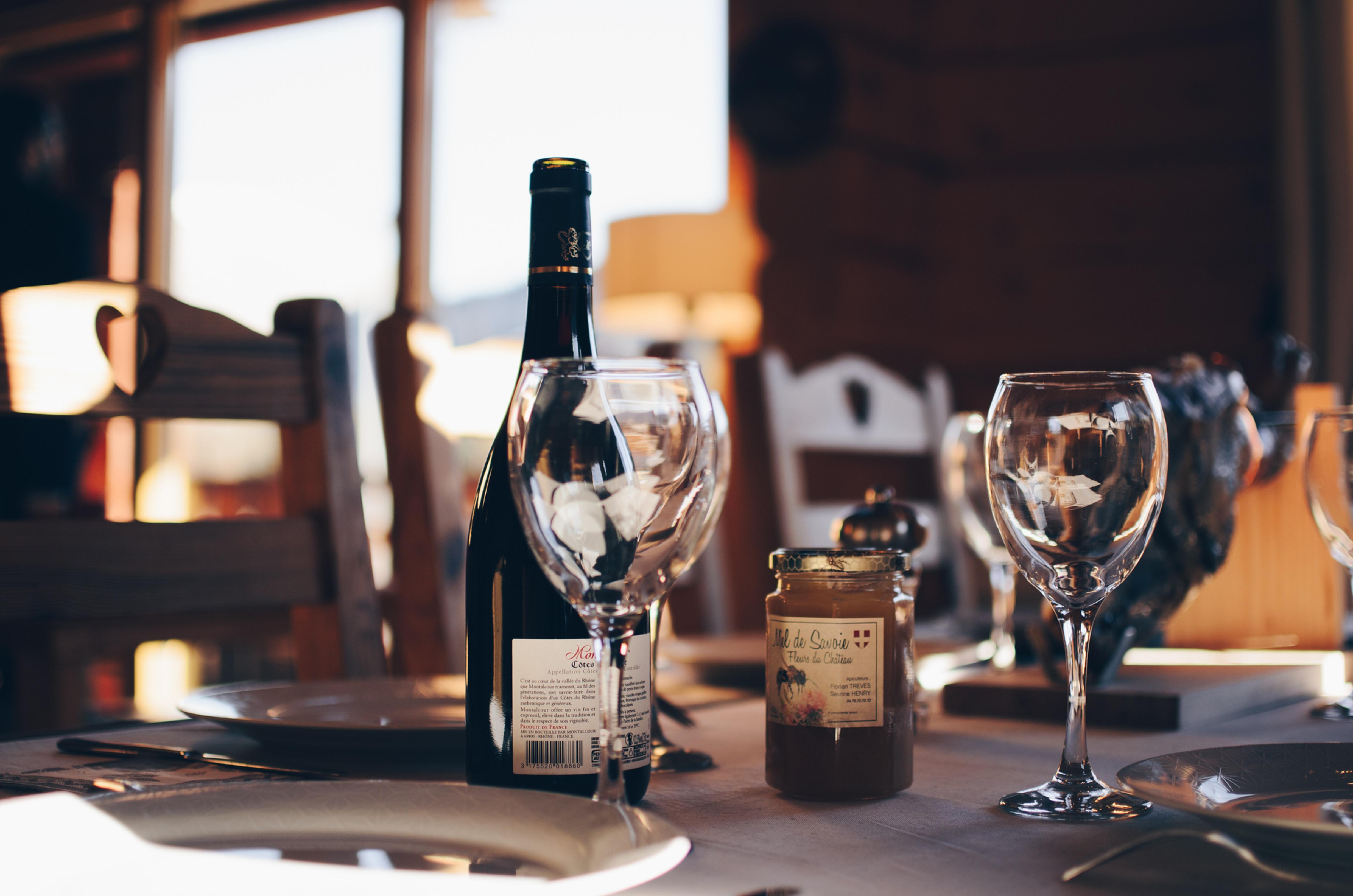 レストランのワイントレーニング