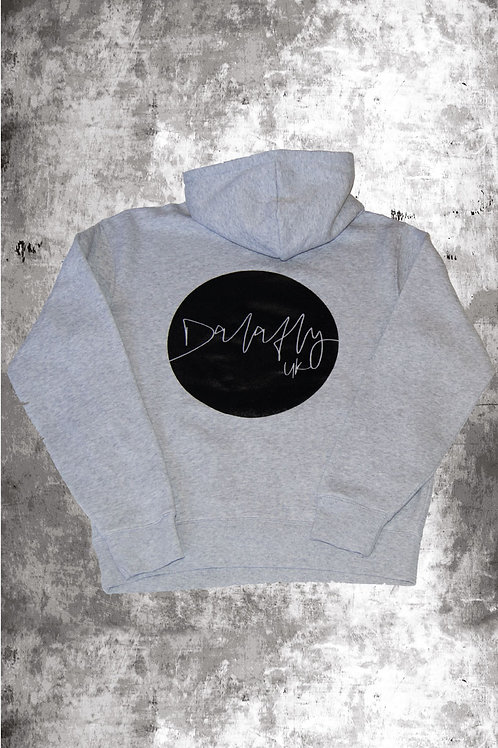 DALLY UK HOODIE - LIGHT GREY