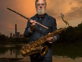 Lew Tabackin Saxophonist with Toshiko Akiyoshi