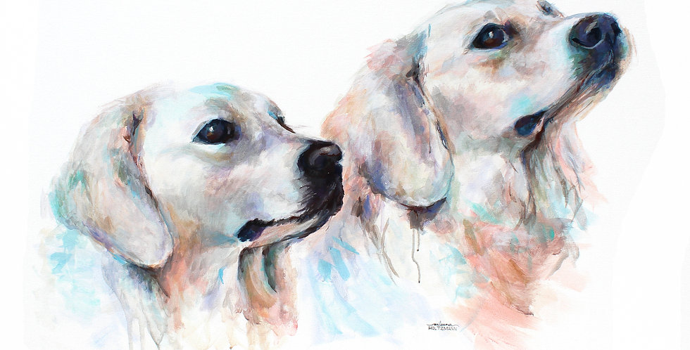 Labs Painting