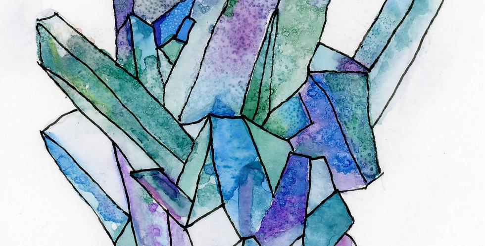 Apple Agate Crystal Quartz