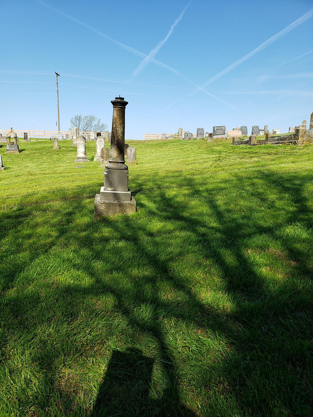 Cemetery in Augusta, Missouri