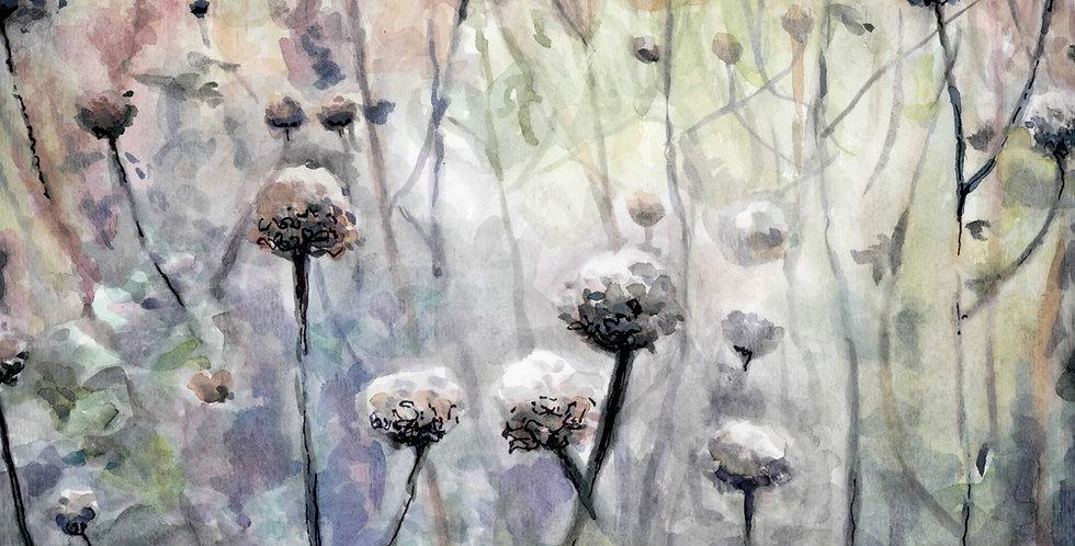 November Watercolor Painting
