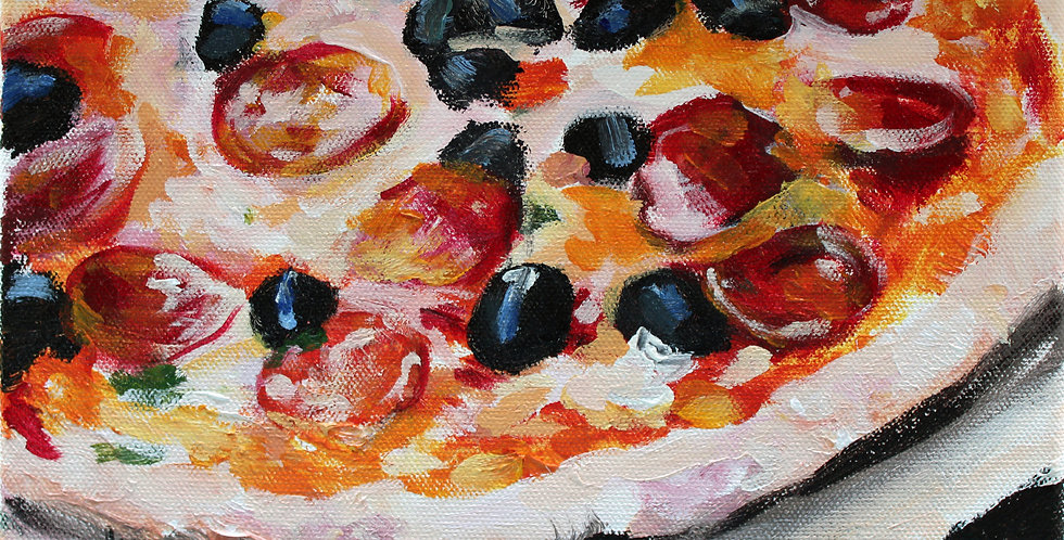 Pizza Painting