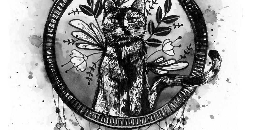 Sheena Cat Illustration