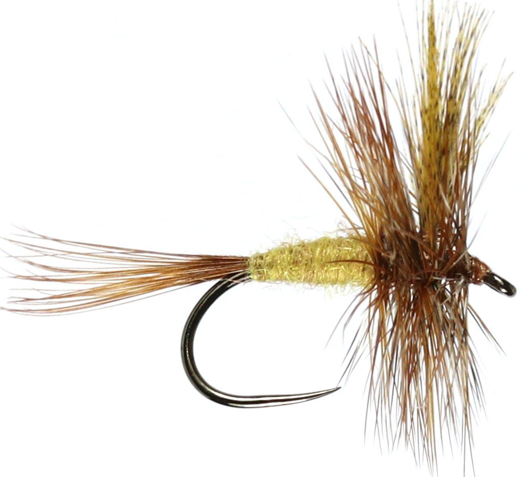 Winged March Brown Size 14