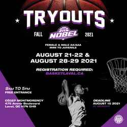 TRY OUT AUGUST 2021