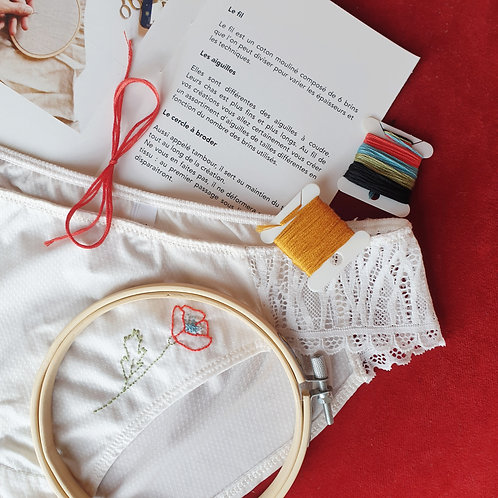 Kit Broderie Nature