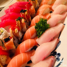 Umami Special roll and nigiri