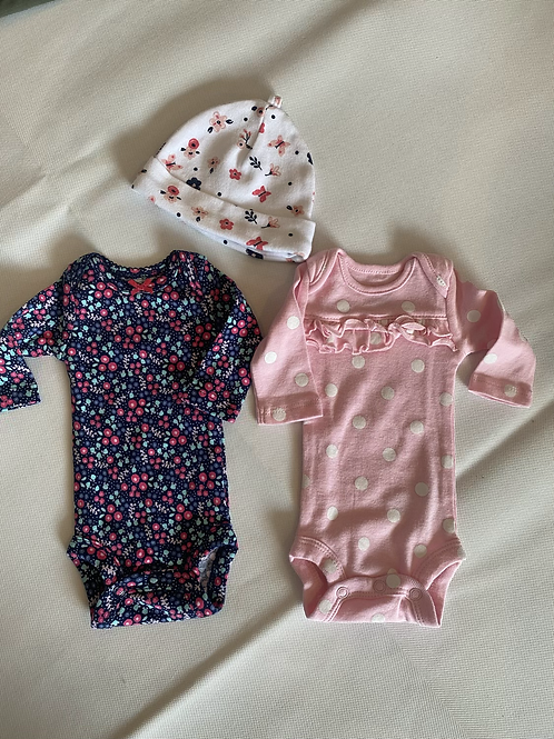 2 Girls Premmie Rompers from USA