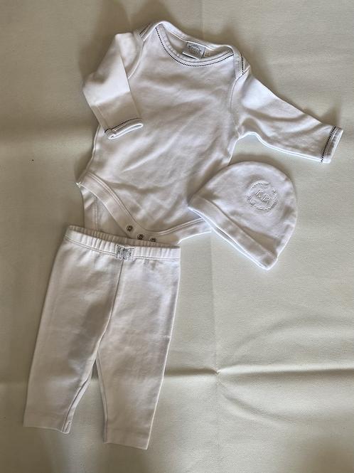 Look Neno newborn set White