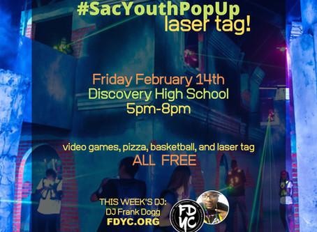 Sacramento Youth Pop Up Laser Tag!