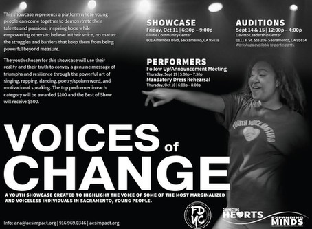 Voice of Change Youth Showcase 10.11.19