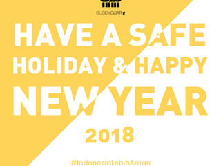 Have A Safe Holiday and Happy New Year