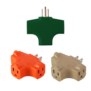 3 Outlet Wire Cube