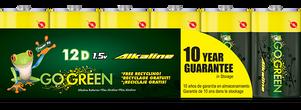 D Alkaline Batteries