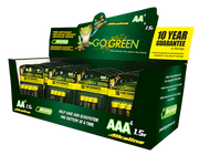 AA & AAA Battery Display