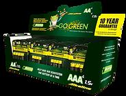 AA & AAA Battery Display