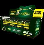 AA & AAA Battery Dispay